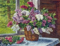 Lilacs By The Window 1
