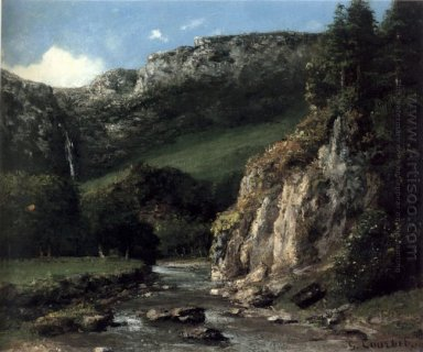 Stream In The Jura Mountains 1873