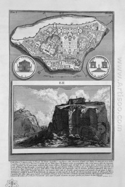 The Roman Antiquities T 1 Plate Xliii Plan Of The Ancient Roman