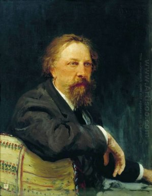 Portrait Of The Writer Aleksey Konstantinovich Tolstoy 1896