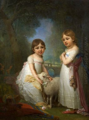 Children With A Lamb