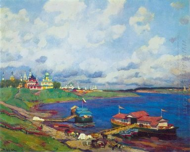 Morning In Uglich 1913