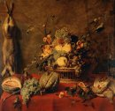 Still Life of Fruit in a Basket