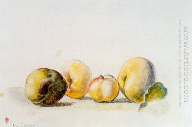 Still Life Quince And Pear 1956
