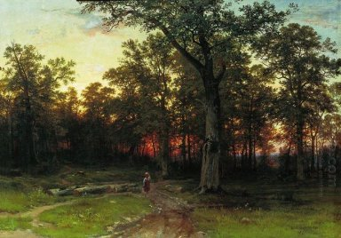 Wood In The Evening 1869