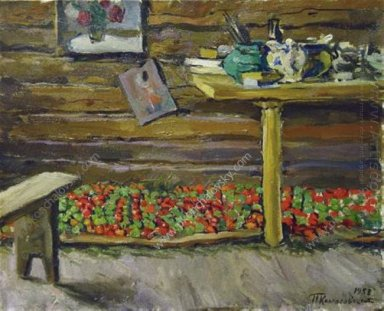 A Workshop Tomatoes On The Bench 1953