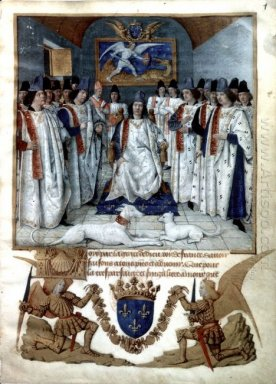 Louis Xi Chairs The Chapter Of Saint Michel