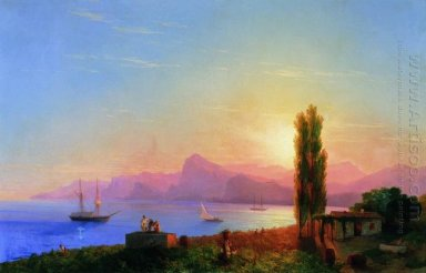 Sunset At Sea 1856