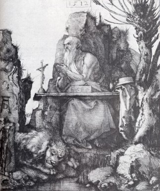 st jerome by the pollard willow 1512