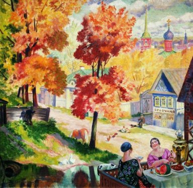 Autumn In The Teatime Província 1926