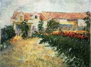 House With Sunflowers 1887