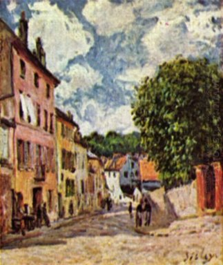 street in moret sur loing 1892