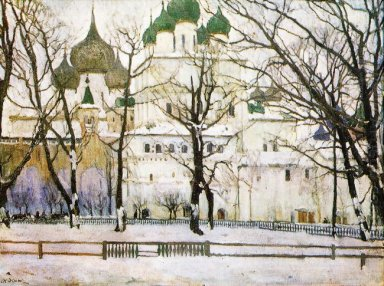The Cathederal In Rostov The Great 1906 1