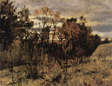 Autumn Evening Domotkanovo 1886
