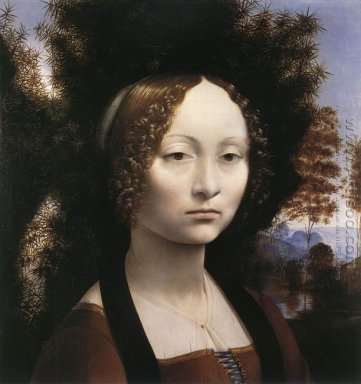 Portrait of Ginevra de\' Benci 1474-46