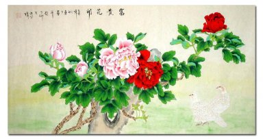 Peony-Wealth - Chinese Painting