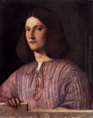 Portrait Of Young Man Giustiniani Portrait 1504