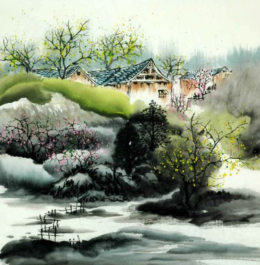 Buildings - Chinese Painting