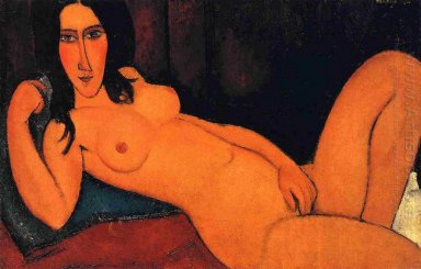 reclining nude 1917 2