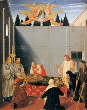 The Story Of St Nicholas The Death Of The Saint 1448