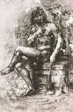 Study For St John In The Wilderness