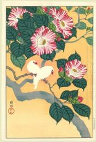 Camellia and Rice Birds