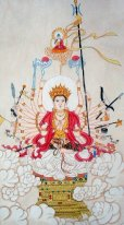 Painting Guanyin-Cinese