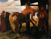centaur at the village blacksmith s shop 1888