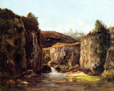The Source Among The Rocks Of The Doubs 1871
