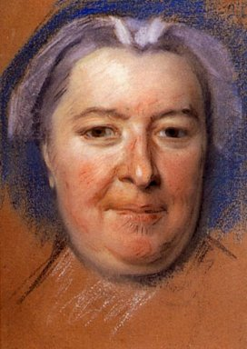 Study For Portrait Of Unknown Woman 8