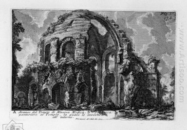 The Roman Antiquities T 1 Plate Xvi Temple Of Minerva Medica 175