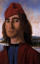 Portrait Of An Unknown Man With Red Beret 1493