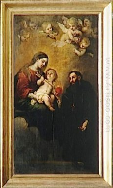 St Augustine With The Virgin And Child