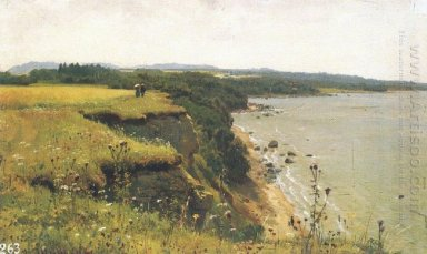 On The Shore Of The Gulf Of Finland Udrias Near Narva 1888 1