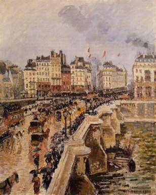 the pont neuf rainy afternoon 1901