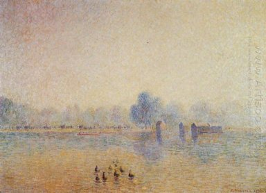 the serpentine hyde park fog effect 1890