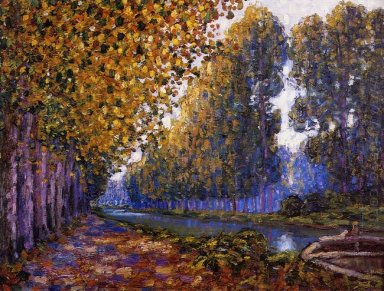 The Moret Canal Autumn Effect