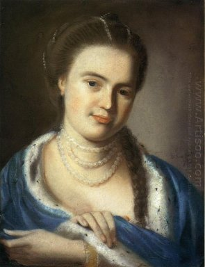 Portrait Of Mrs Gawen Brown 1763