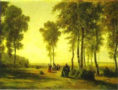 Promenading In The Forest 1869