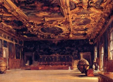 Interior Of The Doge S Palace 1898