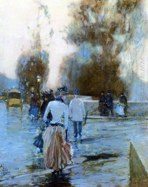 Dock Of Tuileries 1889