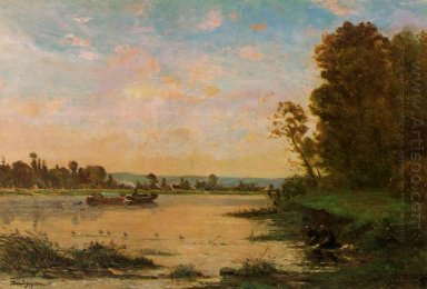 Summer Morning On The Oise 1869