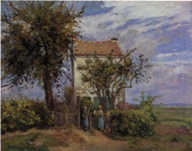 the house in the fields rueil 1872