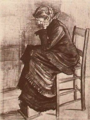 Bent Figure Of A Woman 1882
