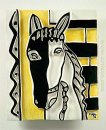 Horse Head On A Yellow Background 1953