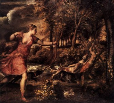 Death of Actaeon 1562
