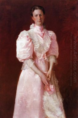 A Study In Pink Aka Portrait Of Mrs Robert P Mcdougal