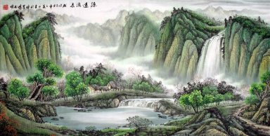 Moutain and water - Liuchang - Chinese Painting