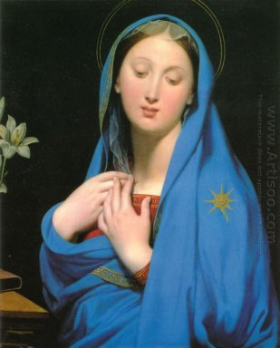 Virgin Of The Adoption 1858