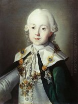 Portrait of Paul of Russia dressed as Chevalier of the Order of